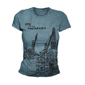 Bis Auf Den Grund (Girlie-Shirt S/Blue)
