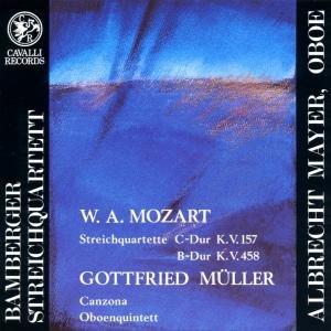 Streichquartette KV 157,458/Oboenquintett,Canzona