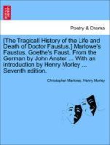 [The Tragicall History of the Life and Death of Doctor Faustus.]