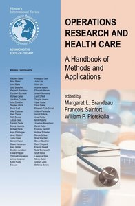 Operations Research and Health Care