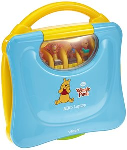 VTech 80-069104 - Lerncomputer: Winnie Puuhs ABC-Laptop
