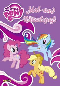 My Little Pony - Mal- und Rätselspaß