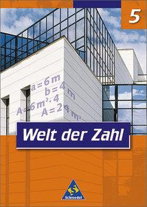 Welt der Zahl 5. Schülerband. Nordrhein-Westfalen