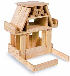 Eichhorn 100001602 - Holzbaukasten, 200-teilig