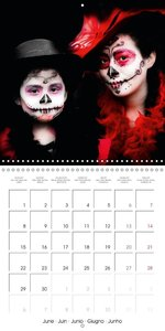 Dia de muertos (Wall Calendar 2015 300 × 300 mm Square)