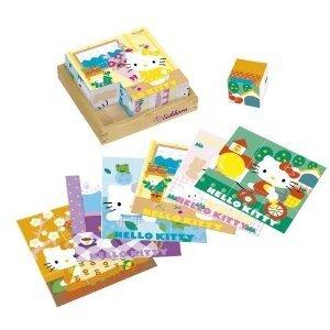 Eichhorn 100003132 - Hello Kitty: Holz-Bilderwürfel