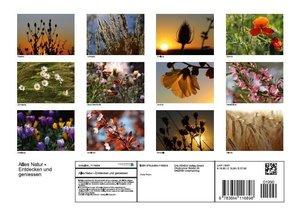 Alles Natur - Entdecken und geniessen (Posterbuch DIN A4 quer)