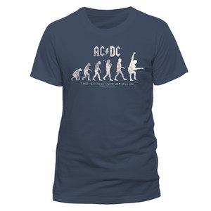 Evolution Of Rock (T-Shirt,Graublau,Größe XL)