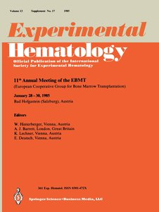 11th Annual meeting of the EBMT
