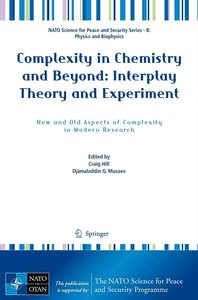 Complexity in Chemistry and Beyond: Interplay Theory and Experim