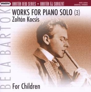 Werke für Klavier solo vol.3: Für Kinder
