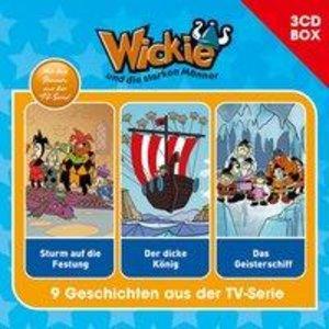 Wickie Wickie - 3-CD Hörspielbox Vol. 2