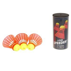 Speedminton 400221 - Speedertube 3er Funpack
