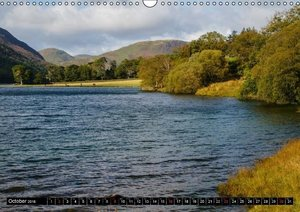 Lake District - Autumnal Landscapes / UK-Version (Wall Calendar
