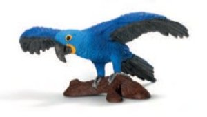 Schleich 14689 - Wild Life: Hyazinth-Ara