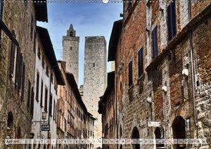 Im Herzen der Toskana (Wandkalender 2017 DIN A2 quer)