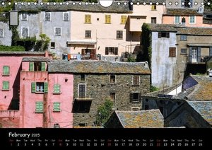 Corsica / UK-Version (Wall Calendar 2015 DIN A4 Landscape)
