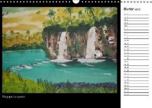 Un artiste ensoleillé (Calendrier mural 2015 DIN A3 horizontal)