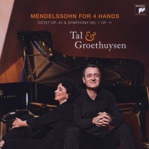 Mendelssohn For 4 Hands (Sinfonie 1 Und Octet)