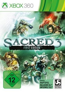 Sacred 3 First Edition. XBox 360