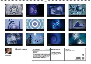 Blue Moments (Wall Calendar 2015 DIN A2 Landscape)