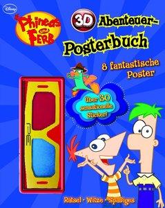 Disney Phineas und Ferb 3D Abenteuer Posterbuch