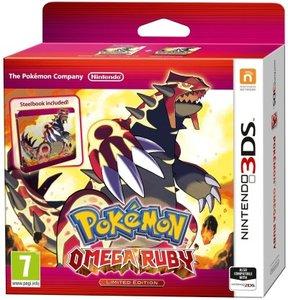 Pokémon Omega Rubin Steel Book - Limitierte Edition