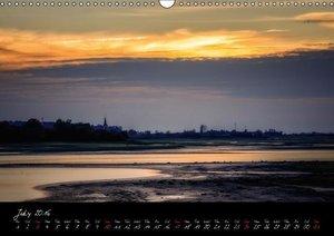 Lac du Der Lake Der (Wall Calendar 2016 DIN A3 Landscape)