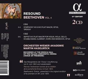 """Resound Beethoven Vol.4-Sinfonie 3 \""""Eroica\"""" & S"""