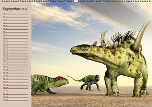 Dinosaurier. Urzeitliche Giganten (Wandkalender 2016 DIN A2 quer