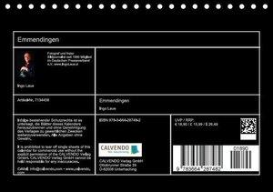 Emmendingen (Tischkalender 2016 DIN A5 quer)