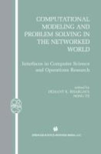 Computational Modeling and Problem Solving in the Networked Worl