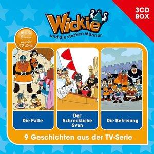 Wickie Wickie und die starken Männer. 3-CD Hörspielbox Vol. 1