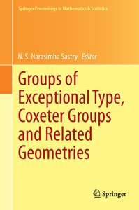 Groups of Exceptional Type, Coxeter Groups and Related Geometrie