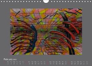 My Art Sounds and Dreams (Wall Calendar 2015 DIN A4 Landscape)