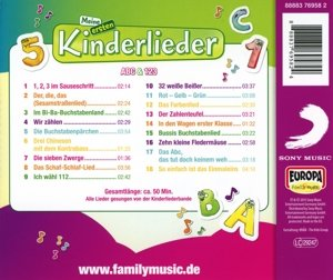 Meine ersten Kinderlieder-ABC & 123