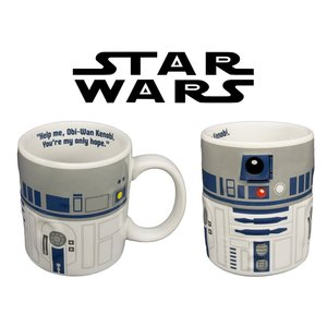 Joy Toy 21690 - R2 - D2, Relief Becher