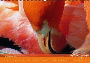 Flamingo Art 2016 (Wandkalender 2016 DIN A2 quer)