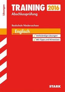 Training Abschlussprüfung Englisch Lösungsheft Realschule Nieder