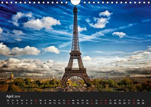 Paris - Impressionen einer Weltstadt (Wandkalender 2019 DIN A4 q