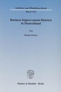 Business Improvement Districts in Deutschland
