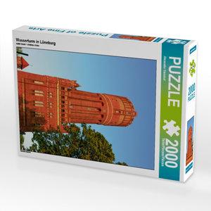 Wasserturm in Lüneburg 2000 Teile Puzzle hoch