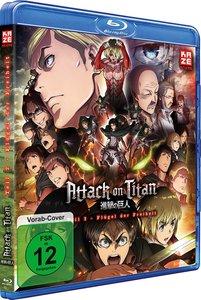 Attack on Titan - Anime Movie Teil 2: Flügel der Freiheit - Blu-