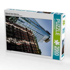 W42nd ST Ecke Ninth Ave 2000 Teile Puzzle hoch