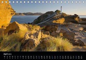 Traumziel Neuseeland 2019 (Tischkalender 2019 DIN A5 quer)