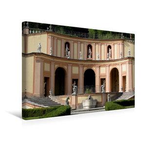 Premium Textil-Leinwand 45 cm x 30 cm quer Villa Betoni