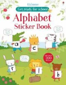 Alphabet Sticker Book