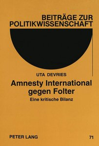 Amnesty International gegen Folter