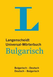 Langenscheidt Universal-Wörterbuch Bulgarisch