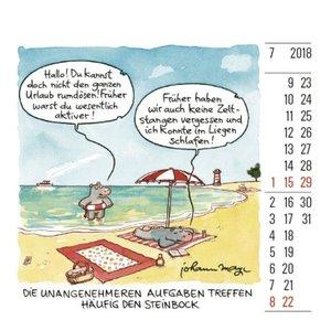 Steinbock Minikalender 2018